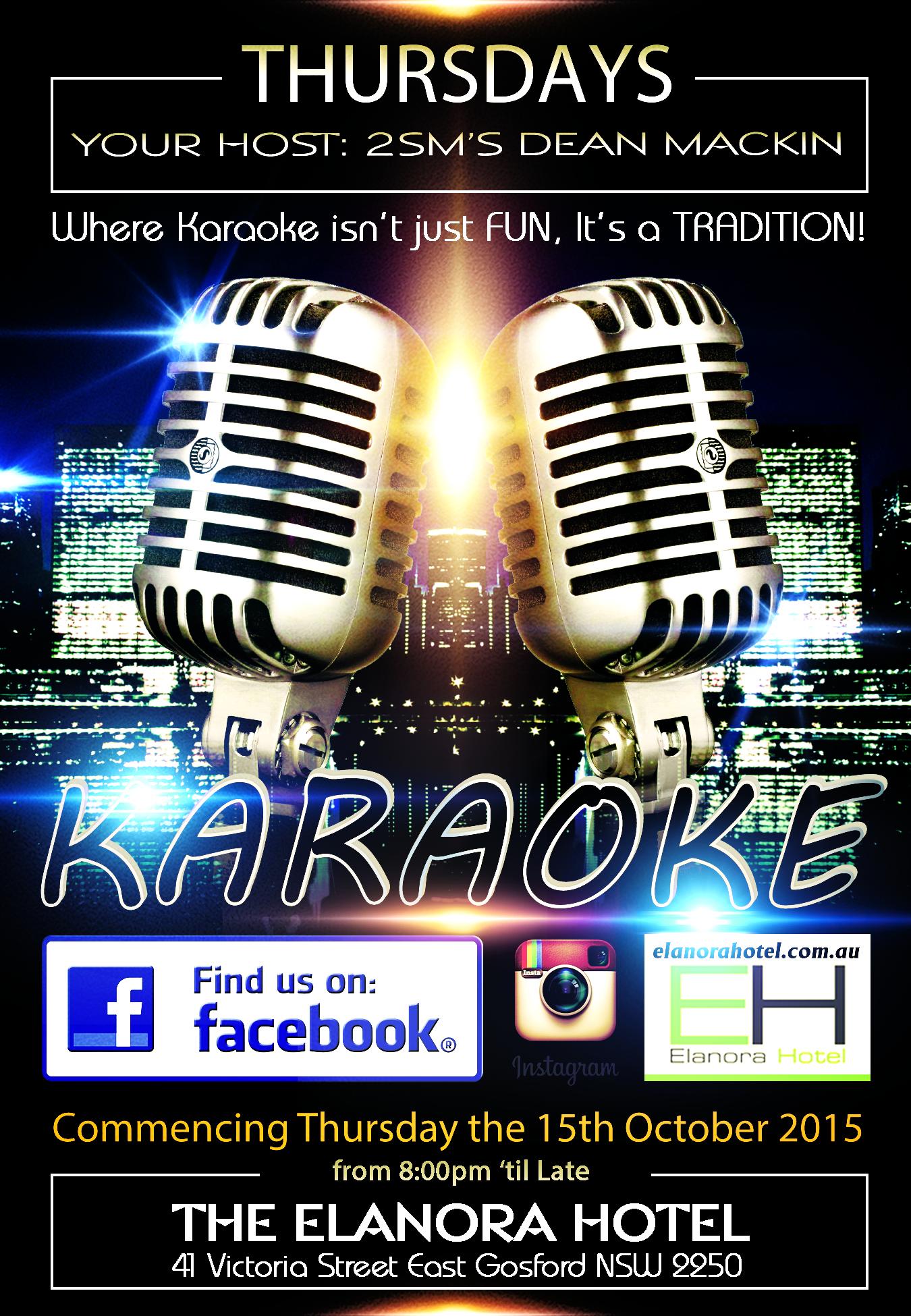 Elanora Hotel Karaoke Every Thursday Night