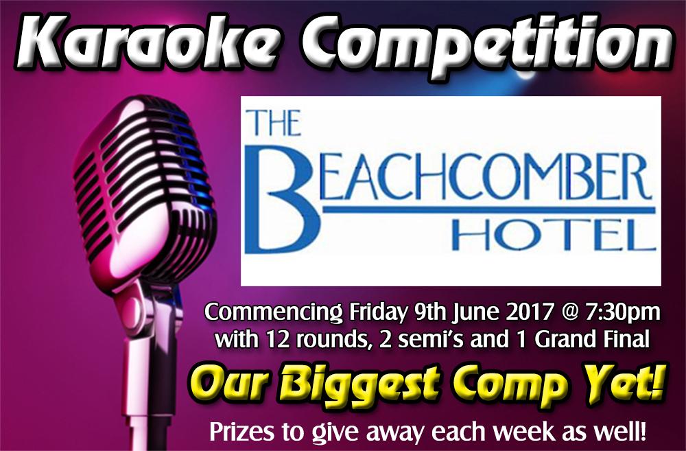 Central Coast Karaoke Competition starts June 9