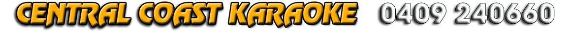 Central Coast Karaoke Logo